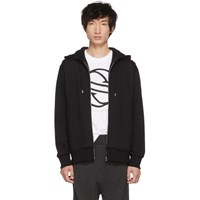 Stella Mccartney Black Iggy Zipped Hoodie
