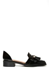 Nasty Gal Jeffrey Campbell Bouvier Patent Leather Loafer