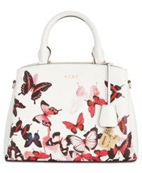 Dkny Paige Small Satchel Created For Macy's White Multi