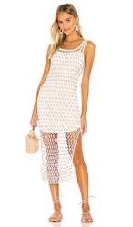 Cleobella Miche Dress In White. Ivory