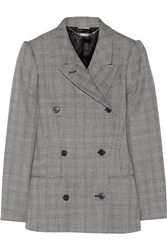 Alexander Mcqueen Glen Plaid Wool And Mohair Blend Blazer