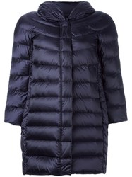 Hetrego Zip Up Padded Coat Blue