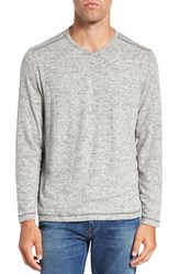 Tommy Bahama Men's 'Leeward' V Neck Long Sleeve T Shirt