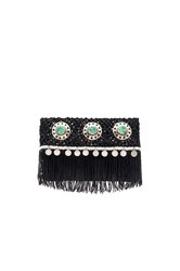 Sam Edelman Lisa Fold Over Clutch Black