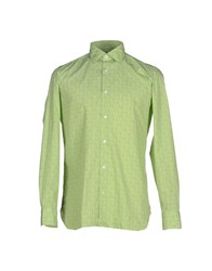 Giampaolo Shirts Shirts Men Acid Green