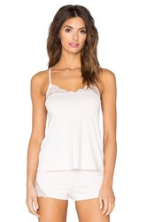 Only Hearts Club So Fine With Lace Flare Cami Pink