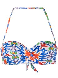 Mc2 Saint Barth Tiare Bikini Top White