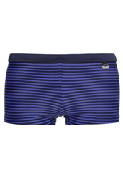 Hom Curieuse Swimming Shorts Blue Dark Blue
