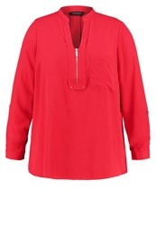Dorothy Perkins Curve Blouse Red