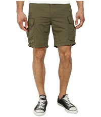 Obey Recon Street Trunk Army Men's Shorts Green