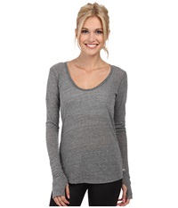 Alternative Apparel Backbend Top Eco Grey Women's Clothing Gray