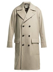 Connolly Double Breasted Wool Coat Beige