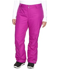 Columbia Plus Size Bugaboo Pant Bright Plum Women's Casual Pants Red