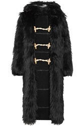Band Of Outsiders Faux Fur Hooded Coat