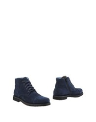 Alexander Hotto Ankle Boots Dark Blue