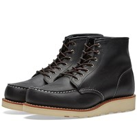 Red Wing Shoes Women's 3373 Heritage 6 Moc Toe Boot Black