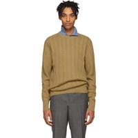 Burberry Beige Cashmere Harwood Sweater