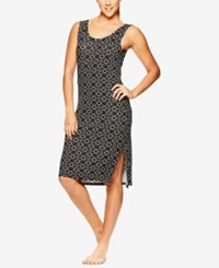 Gaiam Stella Step Hem Dress Cait Print