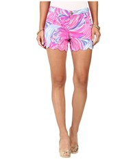 Lilly Pulitzer Buttercup Shorts Magenta Oh My Guava Women's Shorts Pink