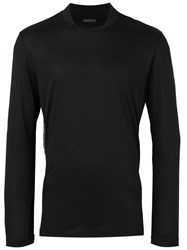 Pal Zileri Stand Up Collar Jumper Black