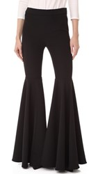 Milly Cady Flare Pants Black