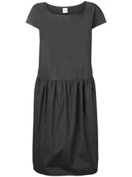 Aspesi Shift Short Sleeved Dress Grey