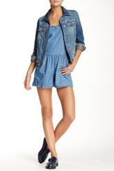 Mavi Jeans Madison Mini Flower Romper Blue