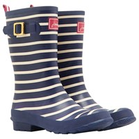Joules Molly Mid Wellington Boots Navy