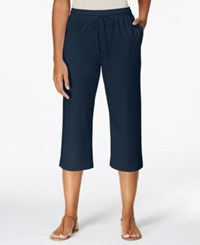 Karen Scott Drawstring Cropped Pants Only At Macy's