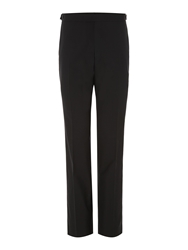 New And Lingwood Benson Black Evening Trouser Midnight