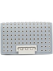 Zac Posen 'Earthette' Clutch Grey