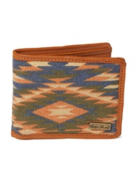Icon Brand Wallet In Aztec Print Multi Multi