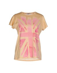 Moschino Cheap And Chic Moschino Cheapandchic Topwear T Shirts Women Sand