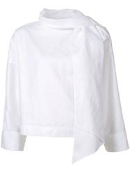 Rodebjer Loose Fit Blouse White