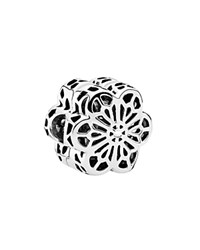 Pandora Design Pandora Clip Sterling Silver Floral Daisy Lace Moments Collection