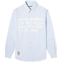 Neighborhood Design 1 Shirt Blue
