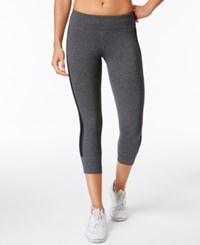Ideology Outdoor Living Cropped Leggings Only At Macy's Charcoal