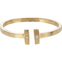 Loren Stewart Women's Diamond And Gold Adjustable Ring No Color
