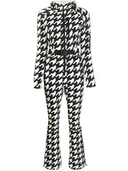 Perfect Moment Houndstooth Hooded Jumpsuit 60