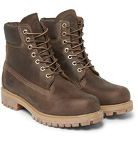 Timberland Heritage Leather Boots Brown