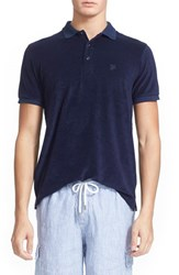 Men's Vilebrequin 'Pacific' Short Sleeve Terry Polo