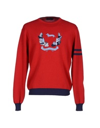 Harmont And Blaine Sweaters Red