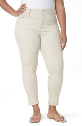 Nydj Plus Size Women's Alex Roll Cuff Ankle Pants Clay