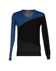 Cnc Costume National C'n'c' Costume National Knitwear Jumpers Men Blue