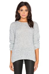 Line Claude Crew Neck Sweater Gray