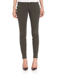 J Brand Zion Mid Rise Skinny Jeans Distressed Caledon