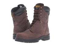 Carolina 8 Steel Toe Waterproof Insulated Work Boot Gaucho Crazyhorse Men's Work Boots Brown