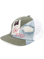 Paul And Shark Distressed Patchwork Cap 60