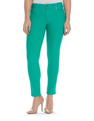 Beija Flor Audrey Ankle Jeans Recycled Teal
