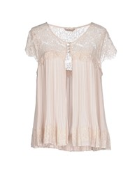 Darling Shirts Blouses Women Beige